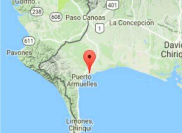 Sismo de magnitud 4,0 se sintió en Chiriquí