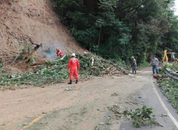 Restablecen tránsito en carretera de Santa Fe de Veraguas luego de deslizamientos