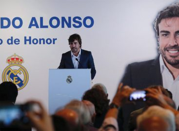 Fernando Alonso fue nombrado Socio de Honor del Real Madrid