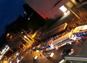 Pasajeros se quedaron varados en San Isidro por falta de autobuses