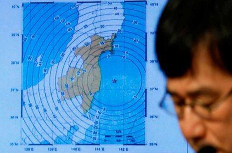 Un terremoto de magnitud 6,1 sacudió la costa este de Japón