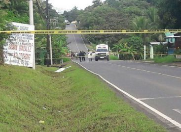 Hallaron cadáver en cuneta de una carretera de Coclé