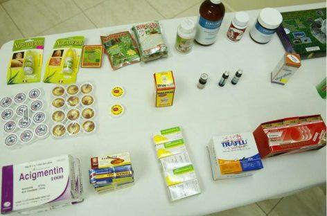 Decomisados más de 100.000 medicamentos ilegales