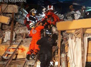 Brigada USAR de Panamá rescató a tres víctimas de sismo en México
