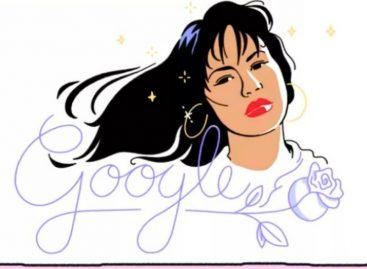 Google homenajeó a Selena Quintanilla con un doodle musical