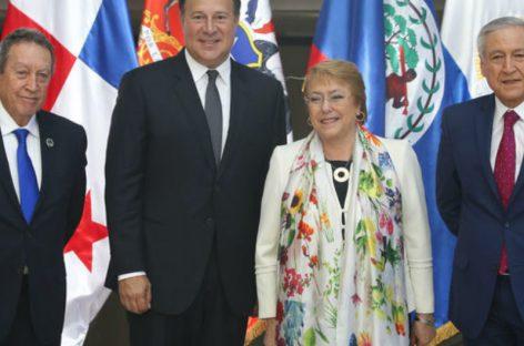 Panamá y Chile desarrollarán plan para mejor seguridad en Centroamérica