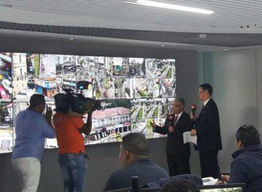 Con 100 cámaras inicia sistema de videovigilancia en la capital
