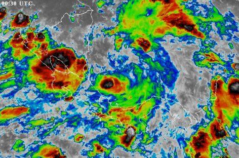 Disturbio tropical avanza por el caribe panameño