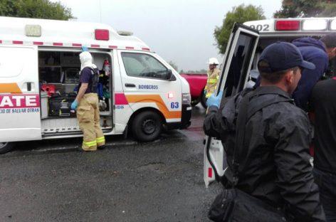 Seis heridos en accidente de tránsito en la vía hacia Volcán