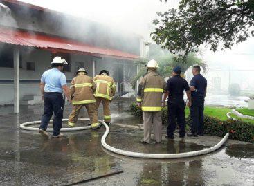 Ministerio Público investiga incendio en cárcel de David