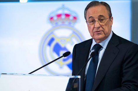 Florentino Pérez: No contemplo una Liga sin el Barça