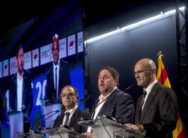 90% votó por el sí a la independencia de Cataluña