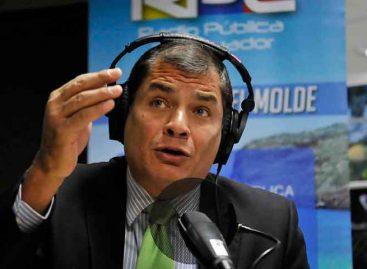 """Rafael Correa cree que Glas es un """"estorbo"""" en el Gobierno de Moreno"""