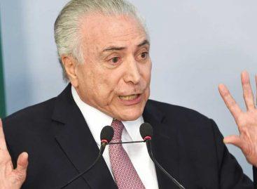 Cámara de Diputados de Brasil rechazó segunda denuncia de corrupción contra Temer