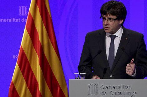 España pidió a Bélgica la detención de Carles Puigdemont