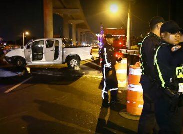 Conductor murió al colisionar con un muro vía Tocumen