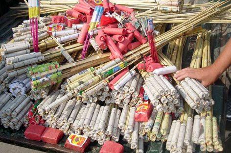 Suspenden desde hoy venta de pirotecnia y porte de armas de fuego por elecciones
