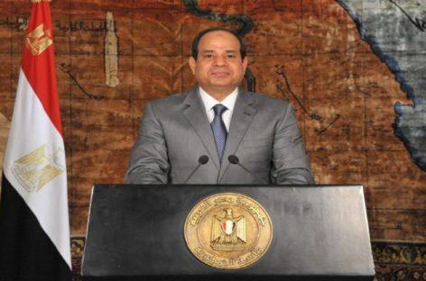 Presidente de Egipto extendió el estado de emergencia hasta diciembre