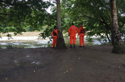 Sinaproc busca a hombre desaparecido por desbordamiento de río en Chiriquí
