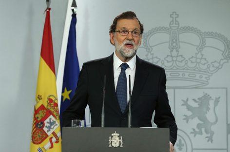 Rajoy evitó hacer declaraciones sobre Cataluña a su llegada a Bruselas