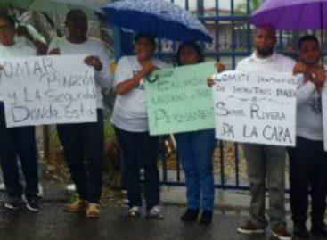 Protestan tras crimen del docente del Inadeh en Colón