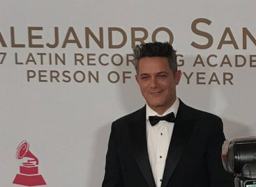 Alejandro Sanz, persona del año en los Grammy Latino 2017