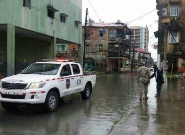 Fuertes lluvias afectaron 104 viviendas a escala nacional