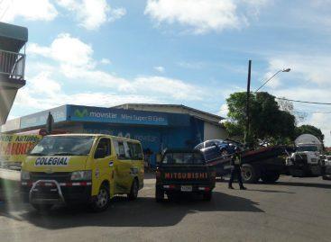 Siete estudiantes heridos por colisión en Los Santos