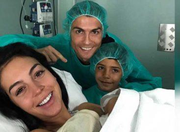 Cristiano Ronaldo, papá por cuarta vez