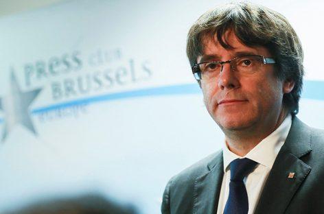 Fiscalía belga confirmó que Puigdemont y los cuatro exconsejeros se entregaron