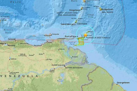 Terremoto de magnitud 5.7 sacudió a varias islas caribeñas