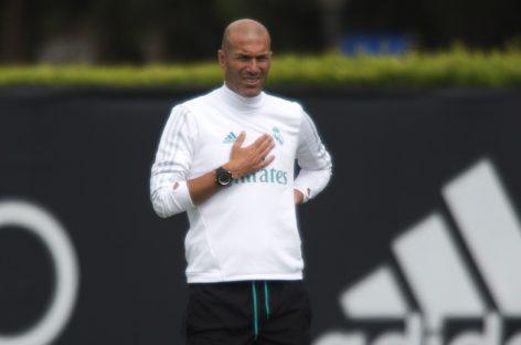 Zidane: Me gustaría ver juntos a Bale, Cristiano y Benzema