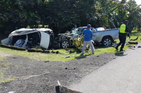 Colisión en Coclé dejó tres muertos y un herido