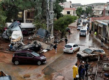 Grecia busca a seis desaparecidos tras las inundaciones del miércoles