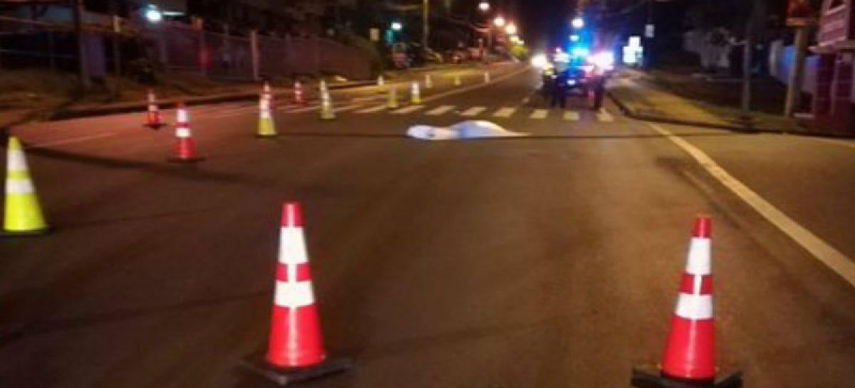 Hombre murió arrollado en la vía José Agustín Arango