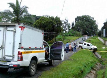 Accidente de tránsito dejó un muerto y dos heridos en Chiriquí