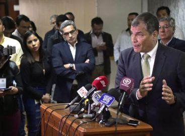 """Correa advirtió que Moreno busca """"presidencialismo absoluto"""" en Ecuador"""