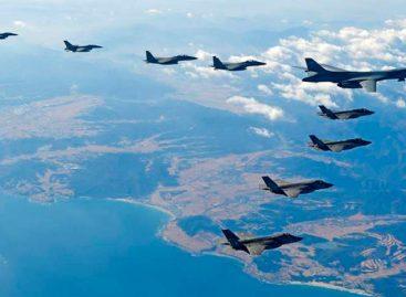 Seúl y Washington concluyeron sus maniobras aéreas