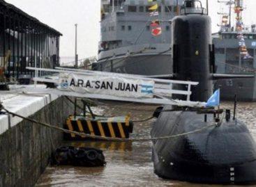 Armada Argentina continuará búsqueda de submarino pero suspendió rescate