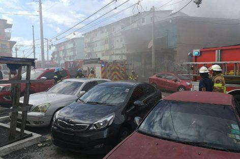 Incendio causó graves daños en edificio de El Chorrillo