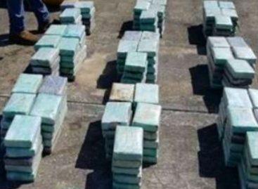 Decomisan 215 kilos de cocaína del «Clan del Golfo» cerca de Isla Grande