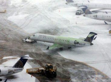 Vuelos en Bruselas anulados temporalmente por fuertes nevadas