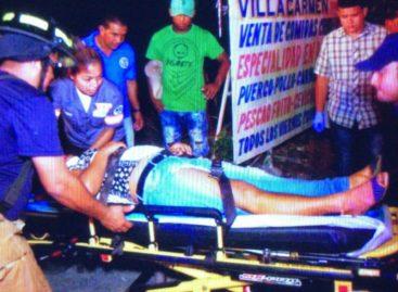 Más de 10 heridos por accidente de tránsito en Capira