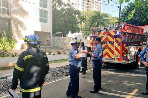 Incendio consumió apartamento en Coco del Mar
