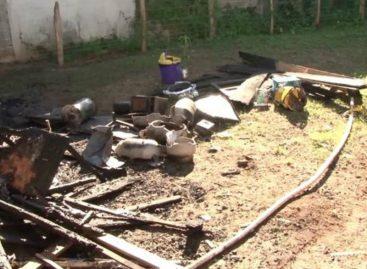 Una mujer herida por explosión de tanque de gas en restaurante de Chiriquí