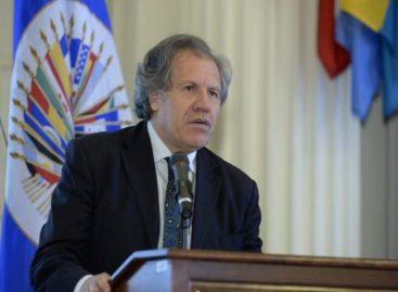 Almagro advirtió en Lima que la corrupción amenaza la democracia en América