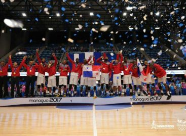 Panamá celebra su oro en baloncesto centroamericano