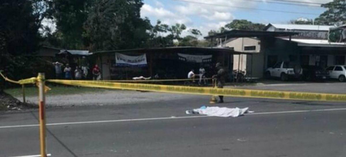 Murió arrollado por un taxi en Chiriquí