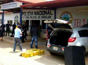 Decomisan 103 kilos de droga ocultos en residencia de Nuevo Arraiján