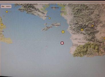 Se registró sismo cerca de la isla de Coiba